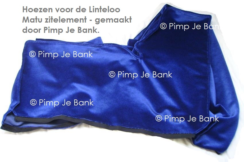 Linteloo MATU hoezen gemaakt door Pimp Je Bank